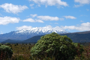 Mt Tongariro, New Zealand